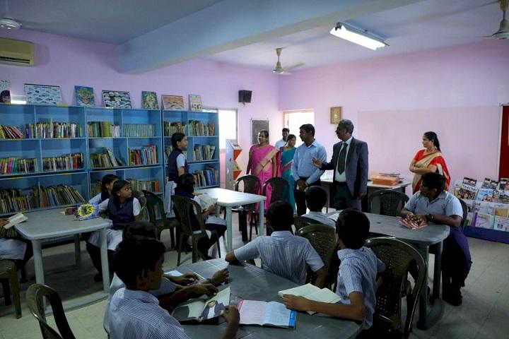 Edison G Agoram Memorial School-library