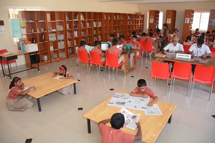 Fairlands A foundation school-Library