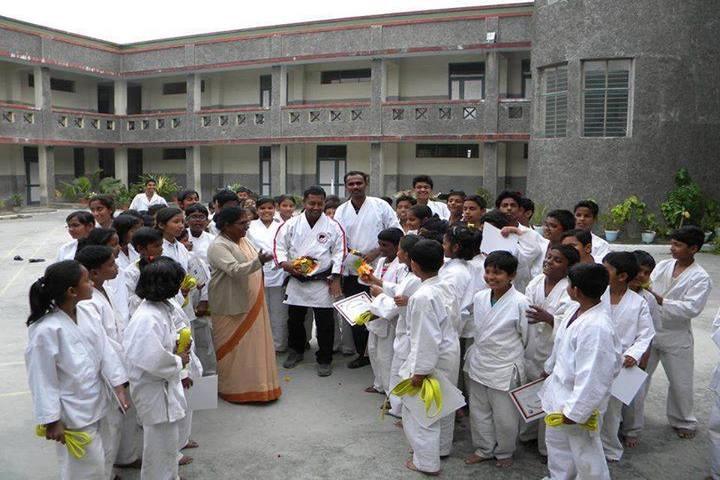 Notre Dame Academy-Karate