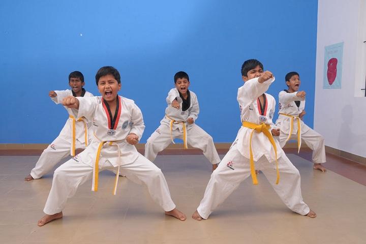 Frontline Millennium School-Karate