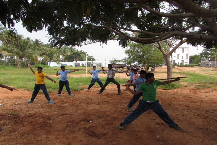 Frontline Millennium School-Silambam