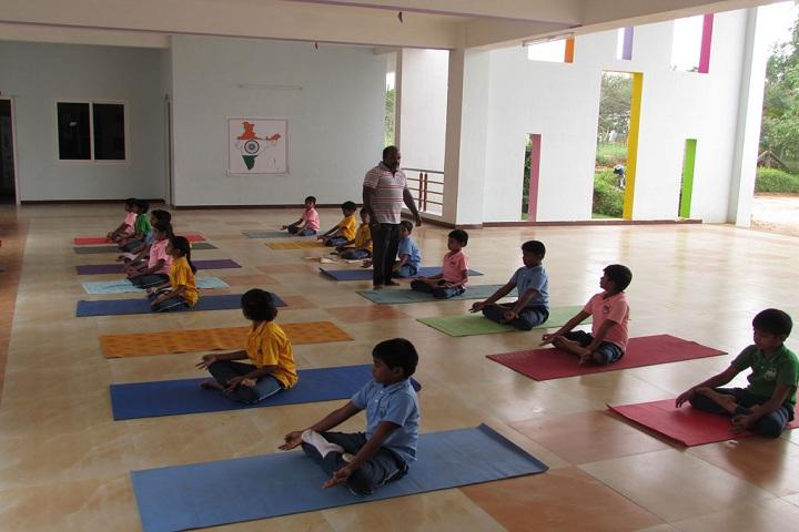 Frontline Millennium School-Yoga