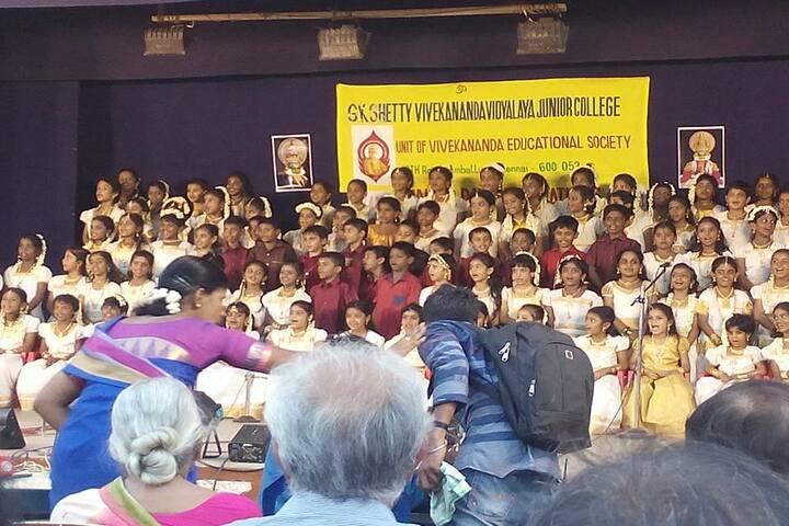 G.K. Shetty Vivekananda Vidyalaya Junior College-Group Song