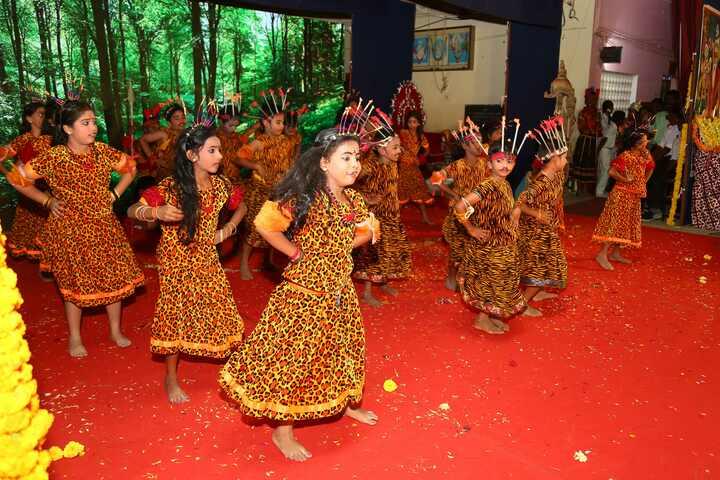G R Thangamaligai Mahalakshmi Vivekananda Vidyalaya-Dance