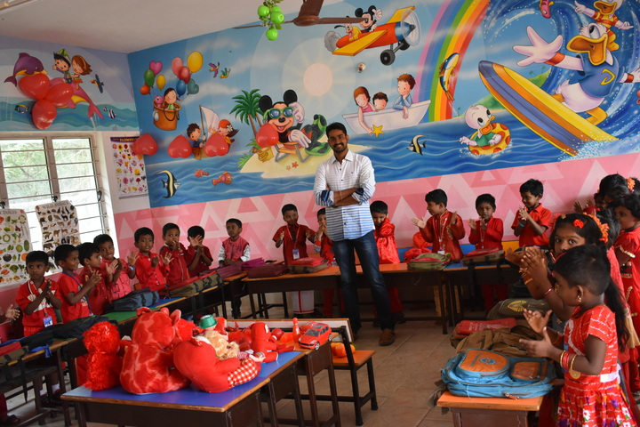 G.K Public School-students