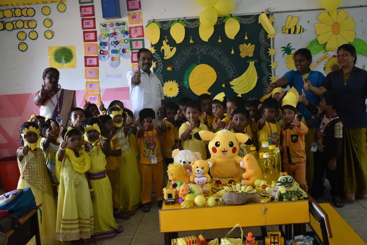 G.K Public School-Mango Day Celebrations