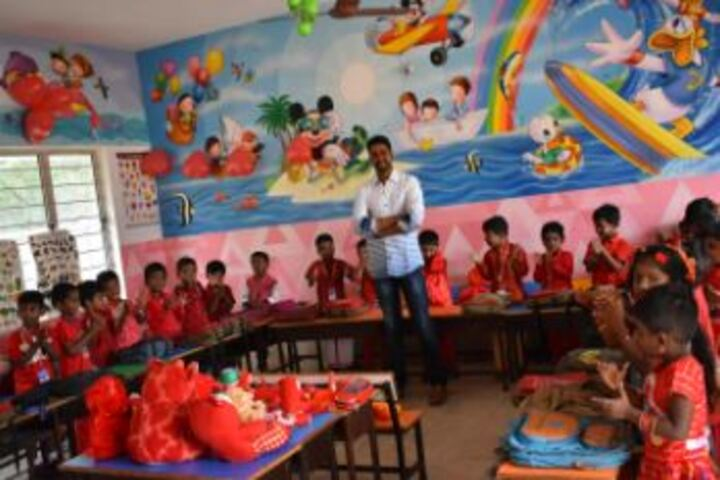 G.K Public School-Classroom
