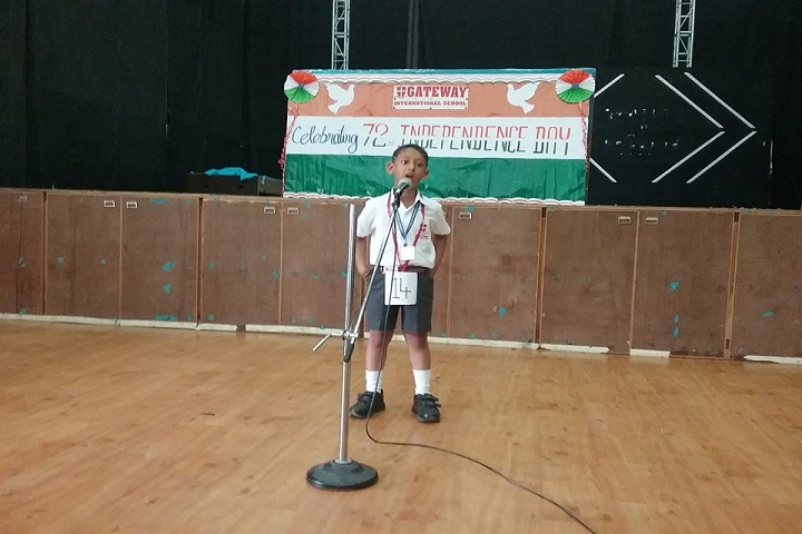 Gateway International School-Independence Day