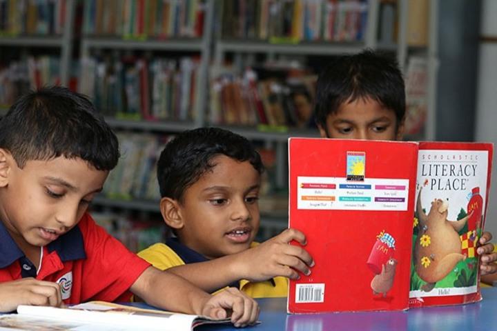 Gedee Public School-Library