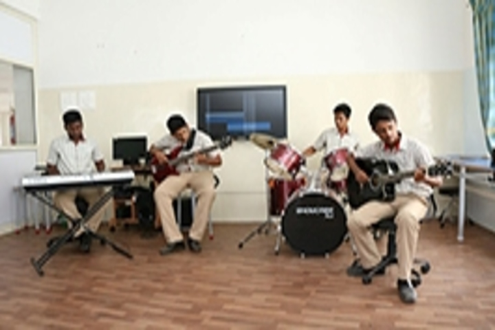 Gedee Public School-Music Room