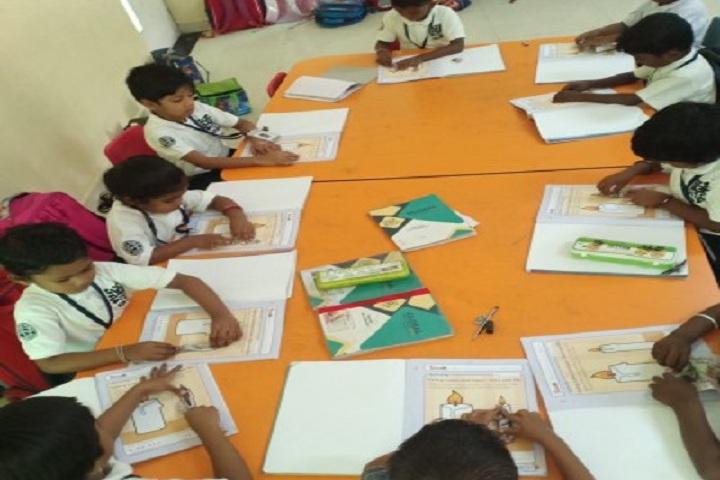 Global Public School-Art room