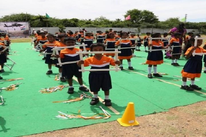 Global Public School-Independence day Celebration