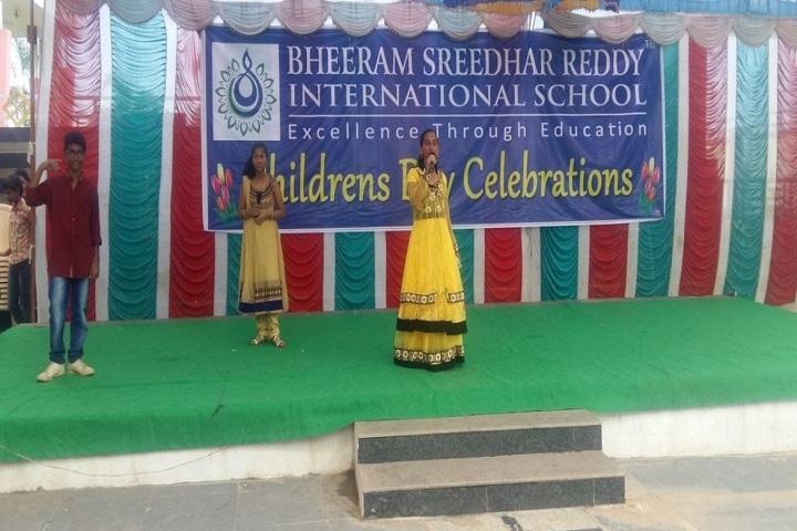 Bheeram Sreedhar Reddy International School-Childrens Day