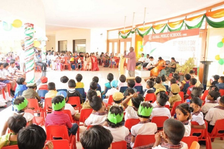 Global Public School-Republic Day Celebration