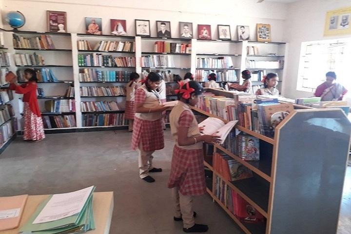 Gnana Vidya Mandir-Library