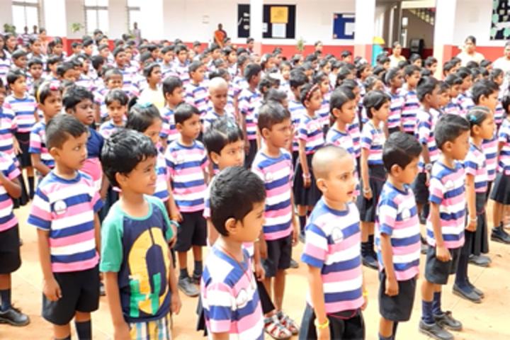 Gnanodaya International School-Assembly
