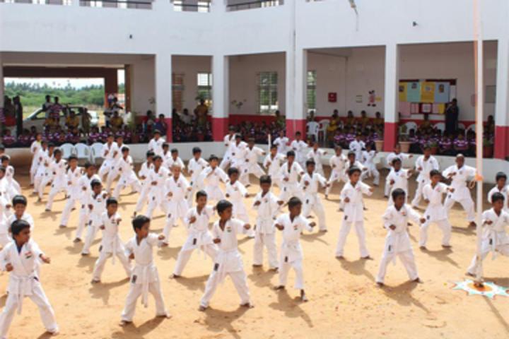 Gnanodaya International School-Karate