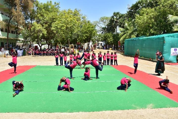 Good Shepherd Model School-Yoga Day