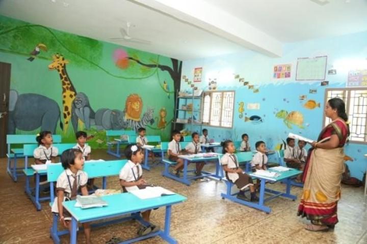 Green Park Smart School-Classroom