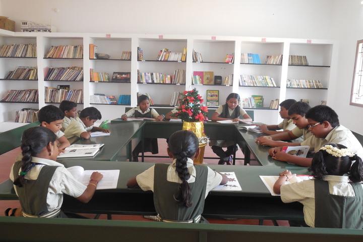 Green Park Smart School-Library