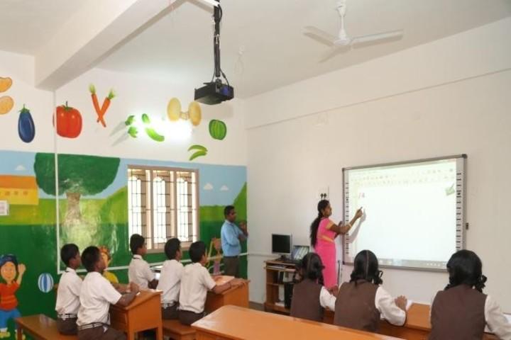 Green Park Smart School-Smart Class