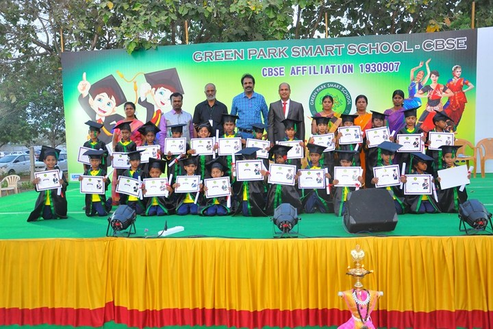 Green Park Smart School-Graduation day