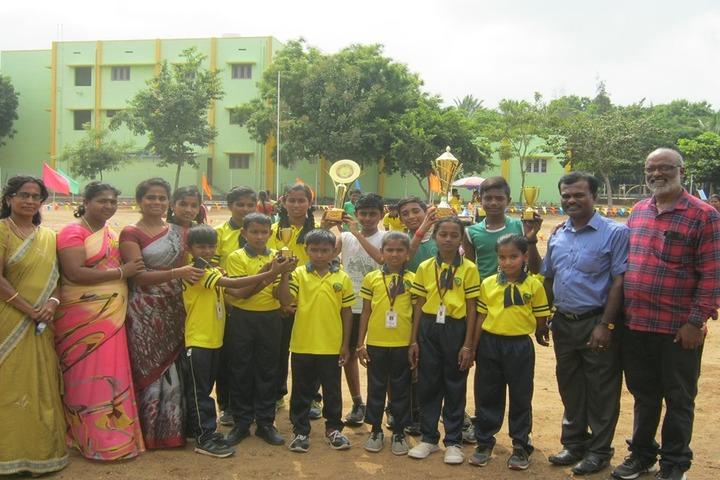 Green Park Smart School-Prizes