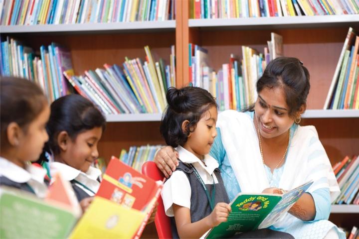 Greenfield Chennai International School-Library