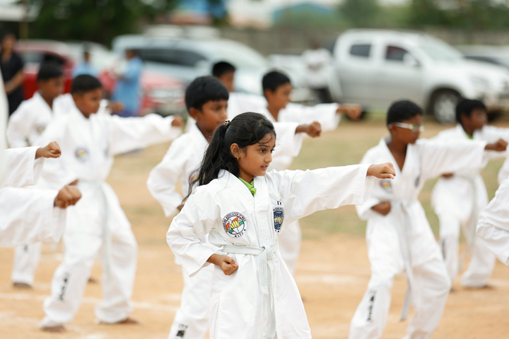 Greenfield Chennai International School-Taekwondo