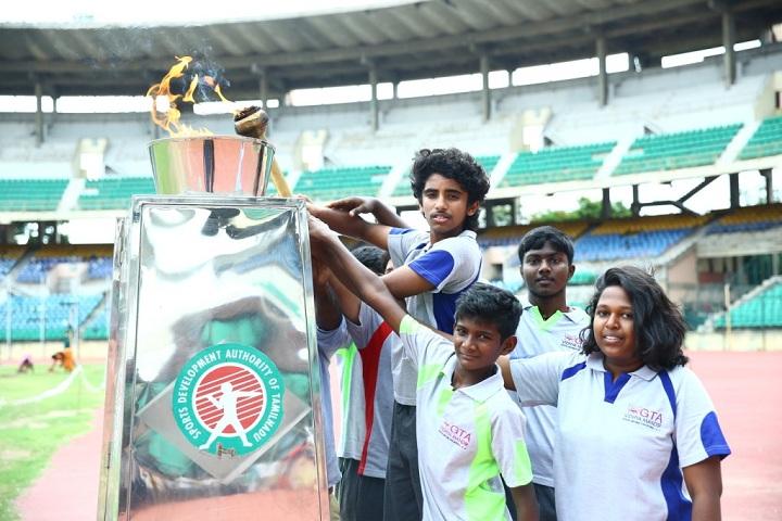 GT Aloha Vidhya Mandir-Sports Day