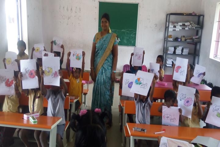 Heritage Vidhyalaya-Drawing