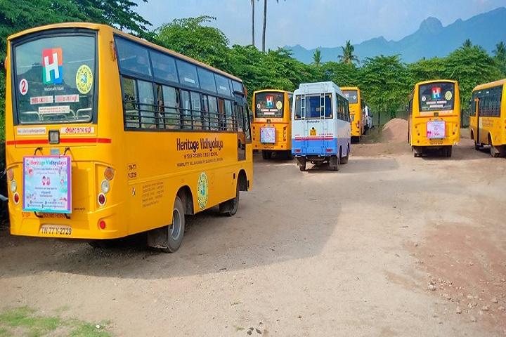 Heritage Vidhyalaya-Transport