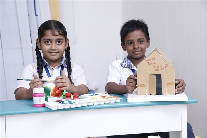 Hindustan International School-Art and Craft