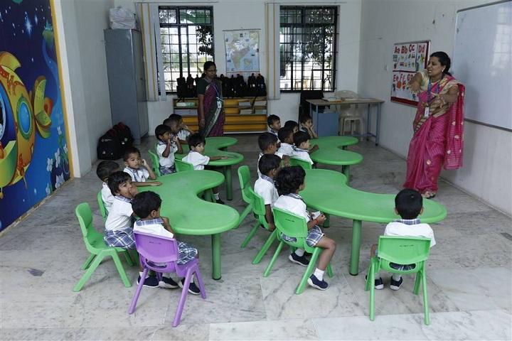 Hindustan International School-KG Classroom