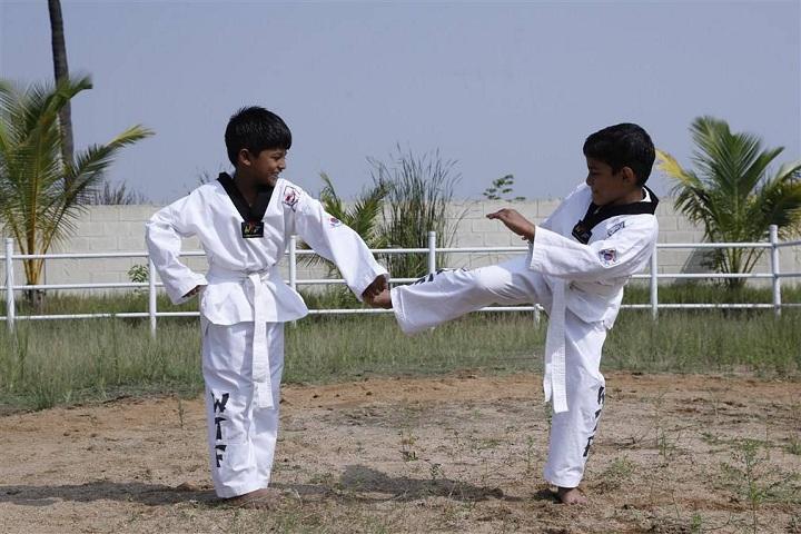 Hindustan International School-Karate