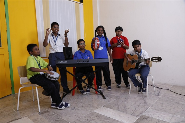 Hindustan International School-Music