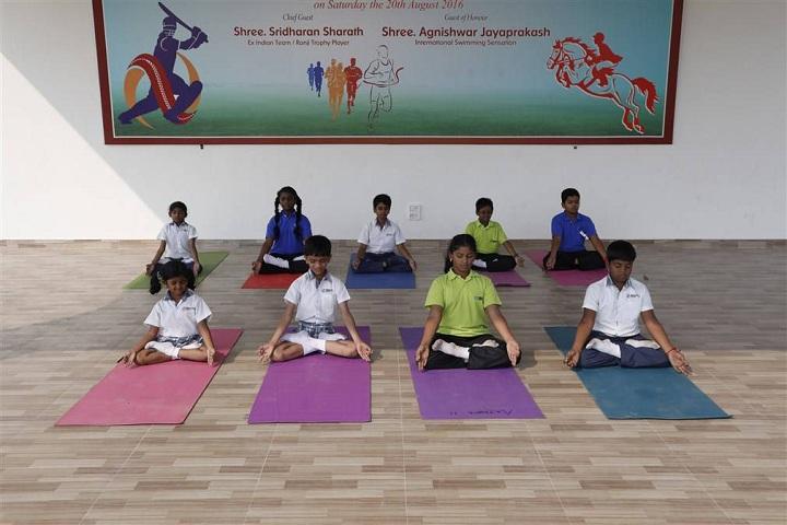 Hindustan International School-Yoga
