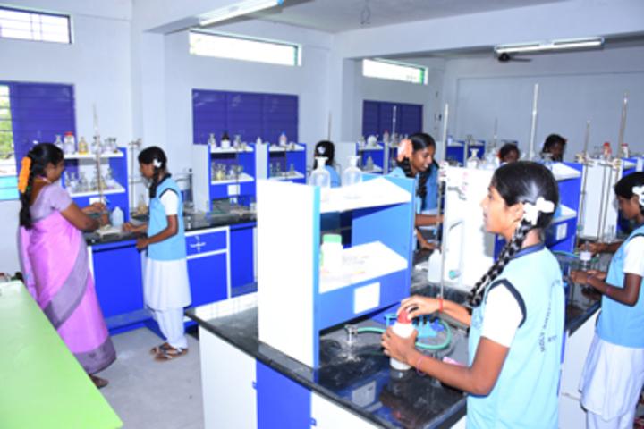 Holy Angel School CBSE-Chemistry Lab