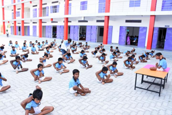 Holy Angel School CBSE-Yoga