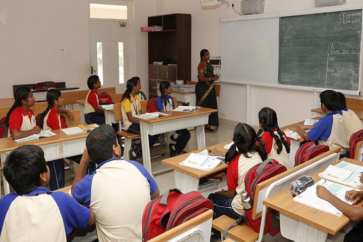 Indu International School-Classroom