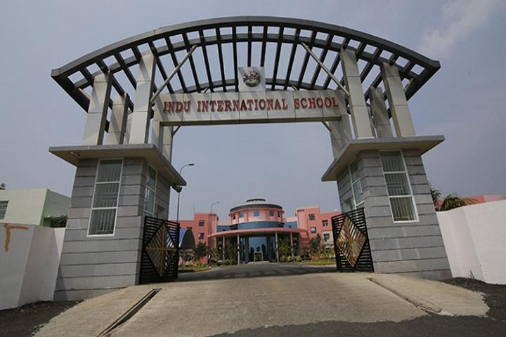 Indu International School-Enterance