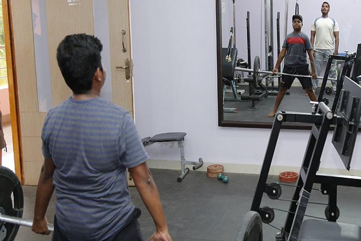 Indu International School-Gym