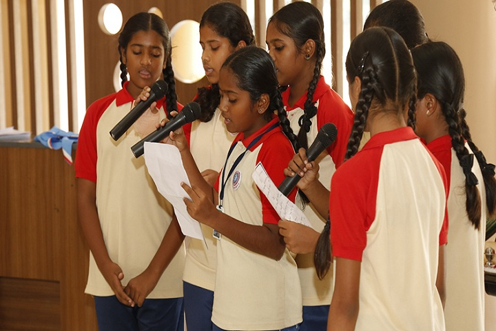 Indu International School-Singing