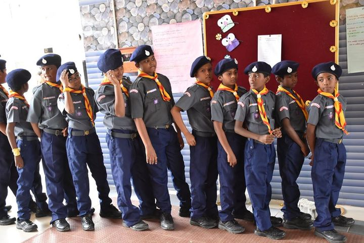 Jay Tech International School-Scouts and Guides