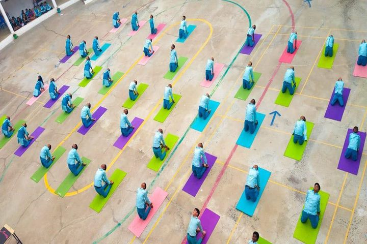 Jay Tech International School-Yoga