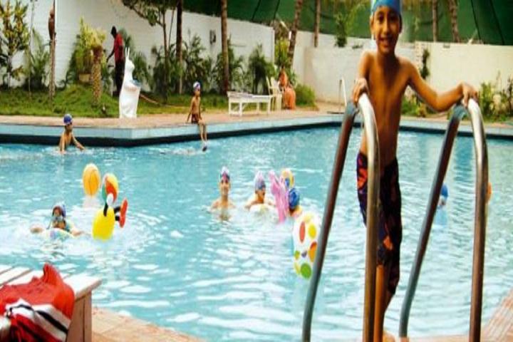 Jeeva Velu International School-Swimming pool