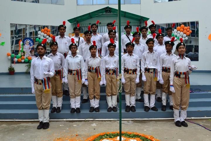 Open Minds  A Birla School-NCC
