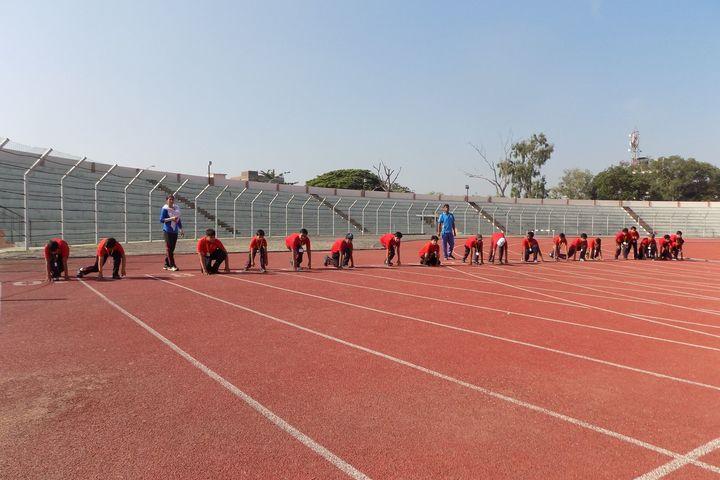 Open Minds  A Birla School-Running Race