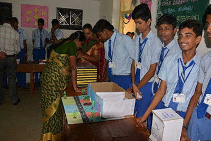K G International School-Science Exhibition