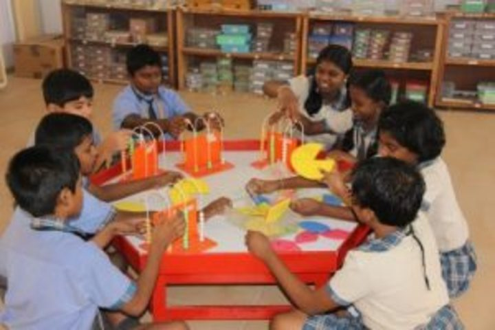 Kamala Niketan Montessori School-Math Lab